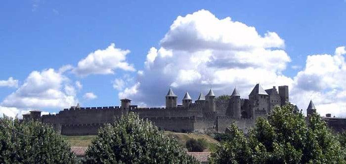 La Cité de Carcassonne vue du Pont Vieux