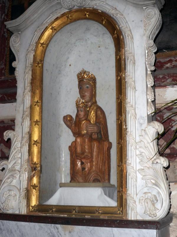 Vierge noire à Notre-Dame du Cros