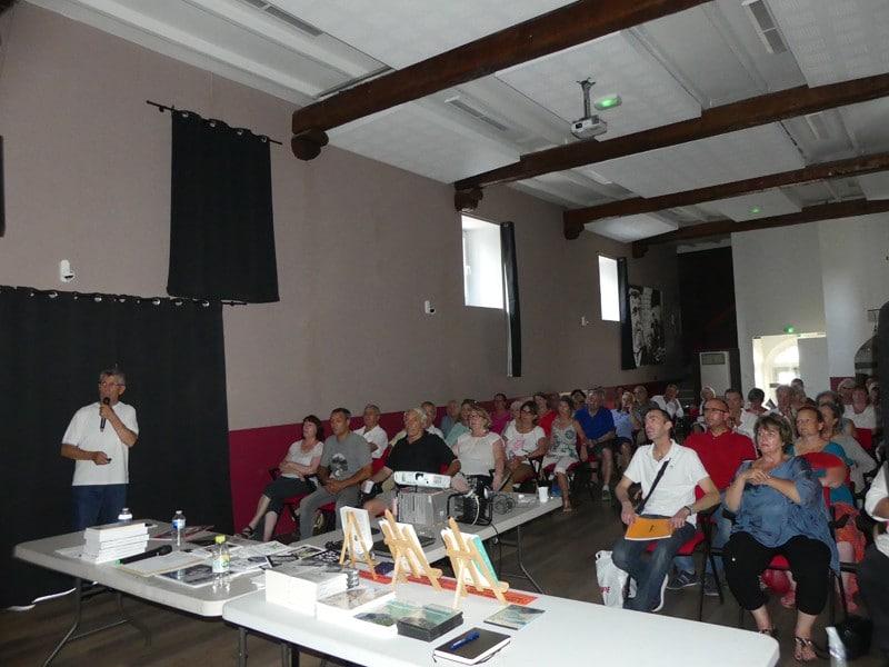 Alain Balasse en conférence à Correns en 2019