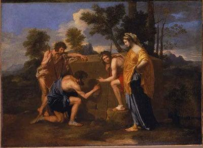 """""""Les Bergers d'Arcadie"""" de Nicolas Poussin - DR"""
