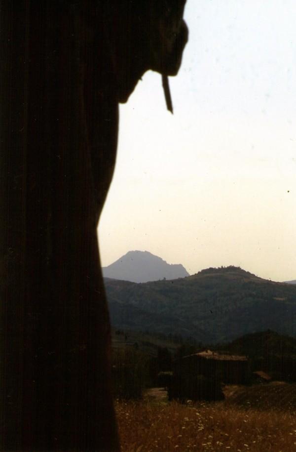 Absence de main droite du Christ d'Antugnac en 1995