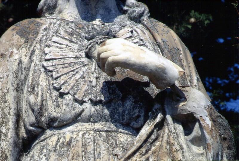 Fausse main de Jésus en 1997