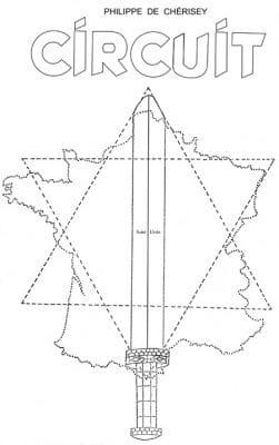 Circuit de Philippe de Chérisey est étudié en rapport avec l'ile aux trente cercueils de Maurice Leblanc