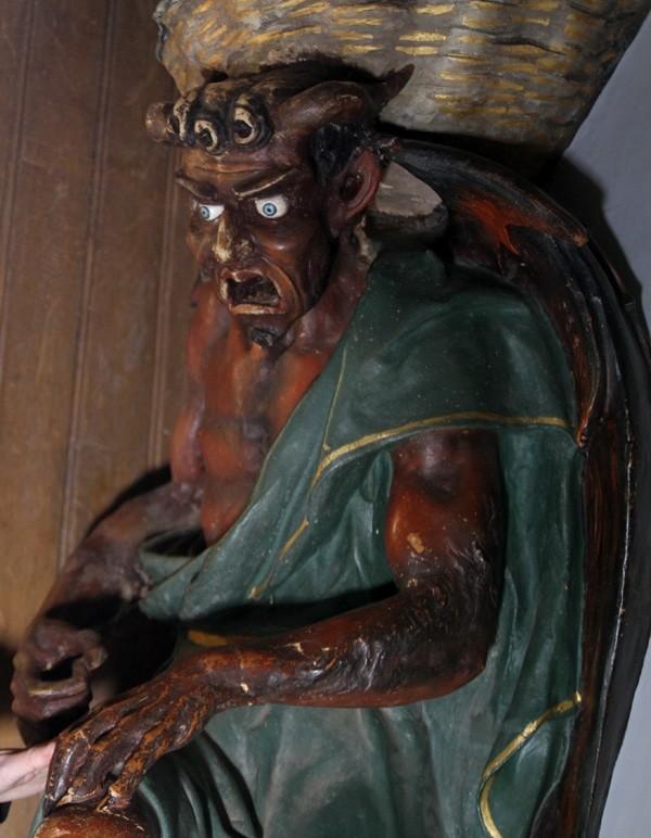 Le diable de l'église de Rennes-le-Château