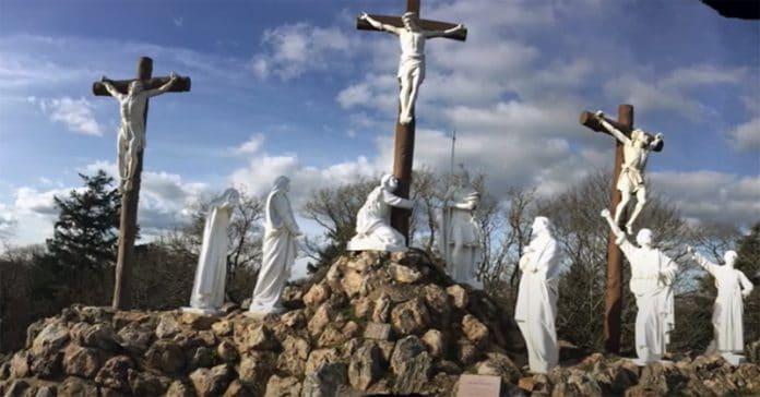 News : Le calvaire monumental de Pontchâteau