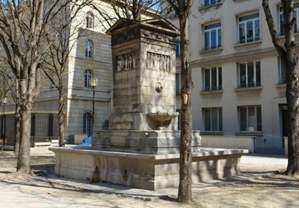 Fontaine de la Paix et des Arts