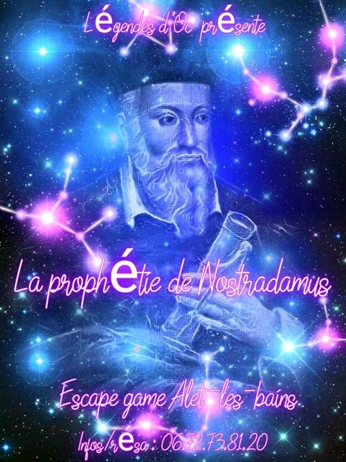 Escape game à Alet-les-Bains La prophétie de Nostradamus ou une visite guidée