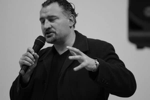 Tony Baillargeat en conférence à Rennes-le-Château