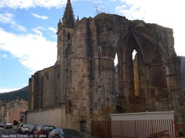Abbaye d'Alet-les-Bains Aude