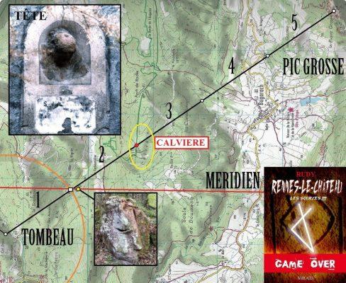 Le trésor se trouverait à la Calvière à Sougraigne, près du pech d'En Couty.