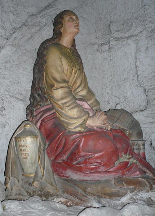 Marie-Madeleine à Saint Zacharie dans l'église Saint Jean-Baptiste