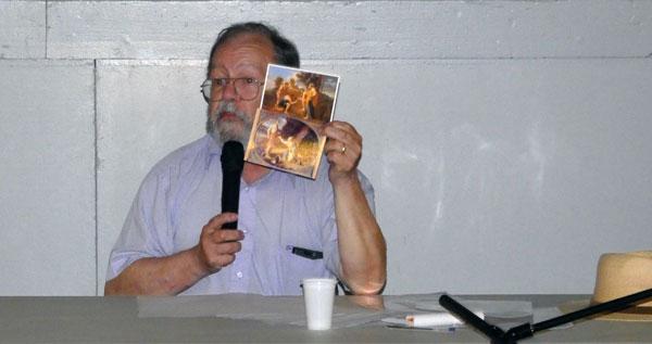 Michel Lamy explique le secret du triangle audois à travers Locus Solus de Raymond Roussel