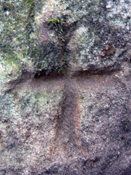 News : croix templière dans le  cromleck ou cromlech