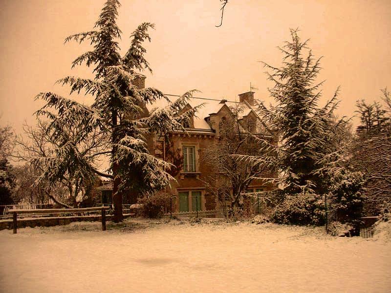 La villa Béthania sous la neige ou la maison d'Ané