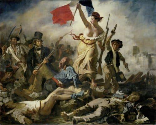 La liberté guidant le peuple d'Eugène Delacroix !