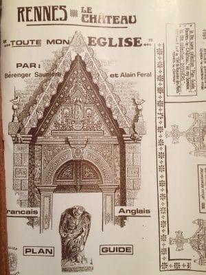 La librairie La Rose Rouge vend Rennes-le-Château, toute mon église d'Alain Féral