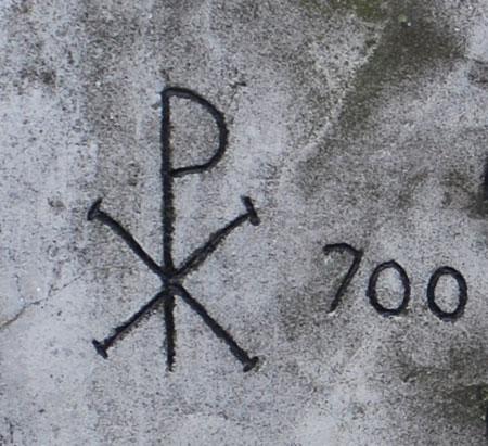 Chrisme PX signe de la voûte étoilée
