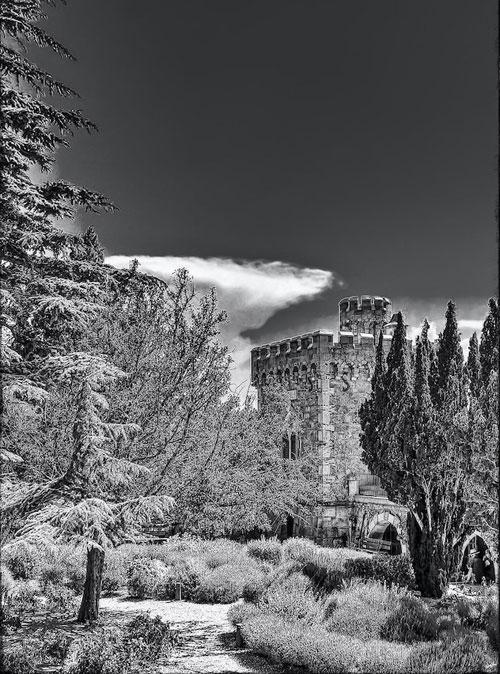 La tour Magdala de Rennes-le-Château photographiée par Franc Bardou