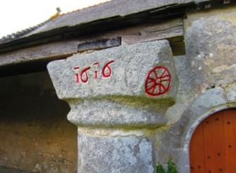 """Le pilier """"Isis"""" inscrit en grec copte selon Auguste Coudray"""