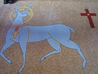 Les 2 mosaïques de Saint-Pierre de Néant