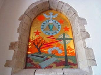 Les 2 mosaïques de Saint-Pierre de Néant - Hemeac ©