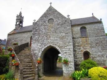 La chapelle des Templiers de La Vraie-Croix autre église du graal