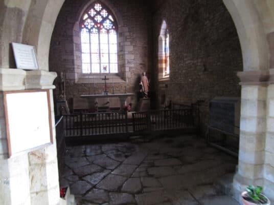 La vescica dans une autre église du graal