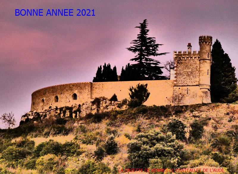 Bonne année 2021 de la part de la Gazette de Rennes-le-Château et de l'Aude