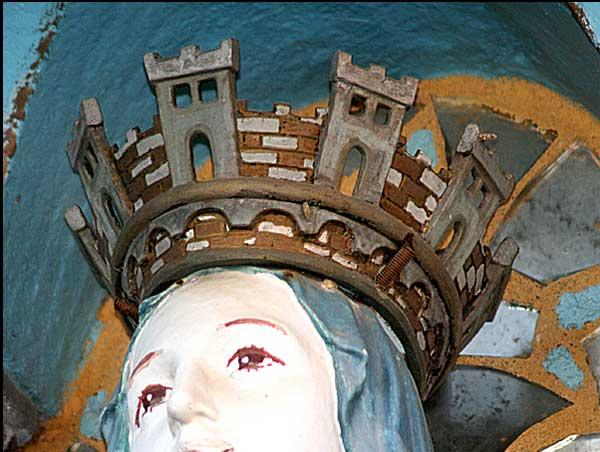 Financement de la vierge de Lourdes dans le jardin de Rennes-le-Château