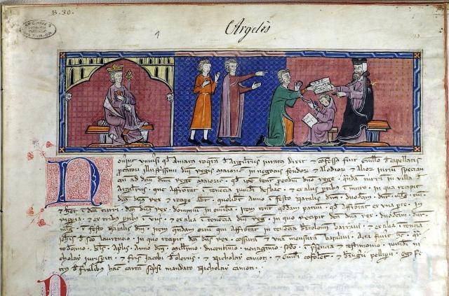 News : Manuscrit B. 29. connu sous le nom de Capbreu d'Argeles (1292) où apparait Jacques d'Ollers, Jacobius d'Olerus, Maitre du Temple de Perpignan, Procureur royal de 1292 à 1307.