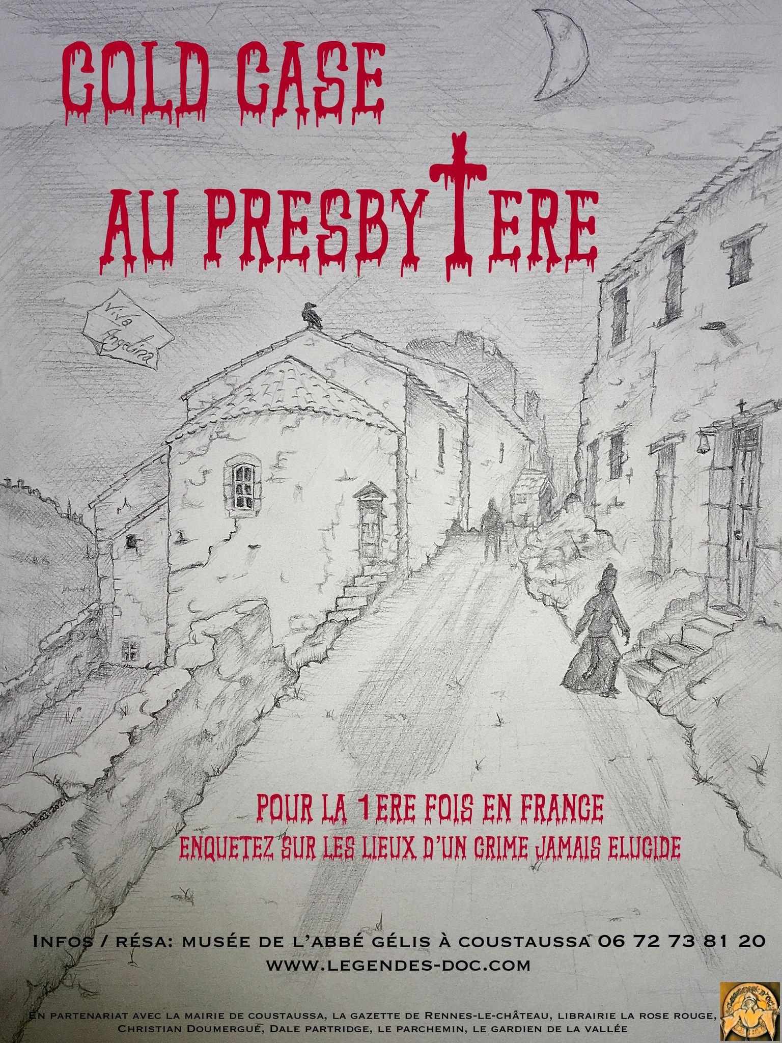 Cold case au presbytère de Coustaussa dans l'Aude, près de Rennes-le-Château après les visites guidées, l'enquête !