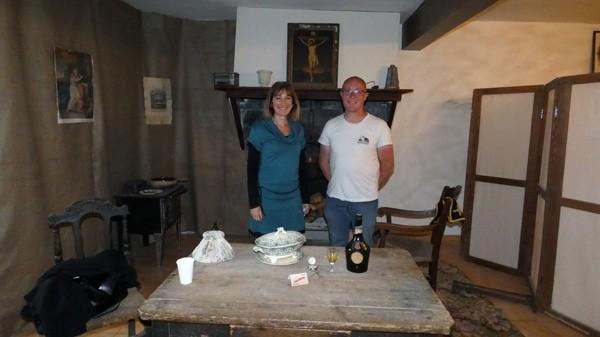 """Stéphanie Buttegeg et Tony Bontempi de la librairie """"La Rose rouge"""" organisent des visites guidées dans l'Aude !"""
