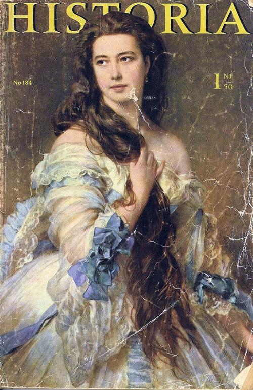 Le magazine Historia de mars 1962 avec le dossier de la disparition de Mayerling