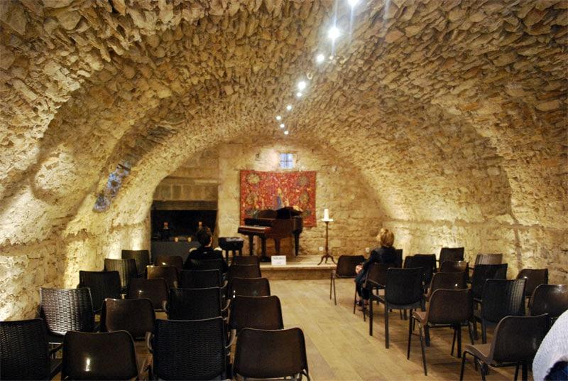 News : salle wisigothique du château de Rennes-le-Château