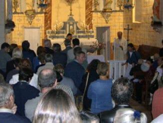 Inauguration de l'église du Bézu